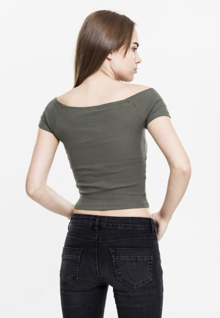 TB1500-Basic-Off-Shoulder-Top-Olive-UC-Vrouwen