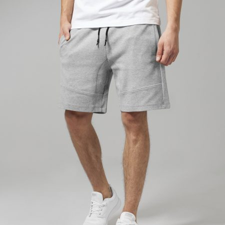 TB1586 Basic Sweatshort grey UC Mannen