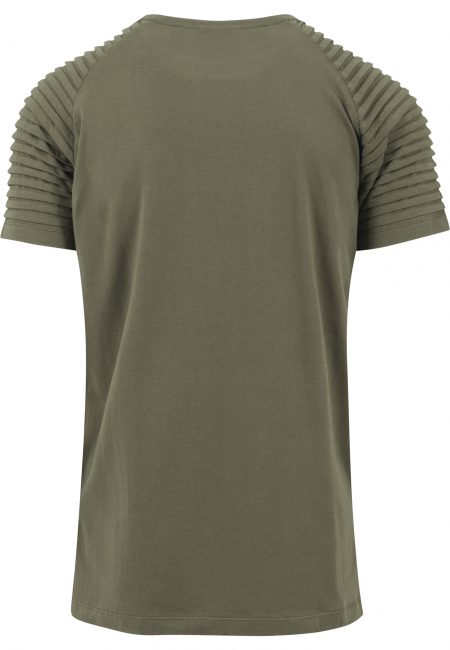 TB1563 Basic Long Fit Ribbel Mouw T-shirt Olive UC Mannen