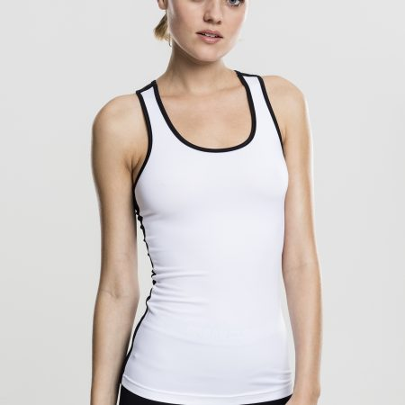 TB1660-Basic-Sport-Top-Vrouwen-White/Black