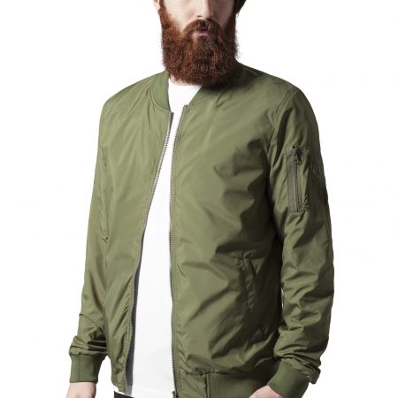 TB1258 Dun Bomber Olive UC mannen